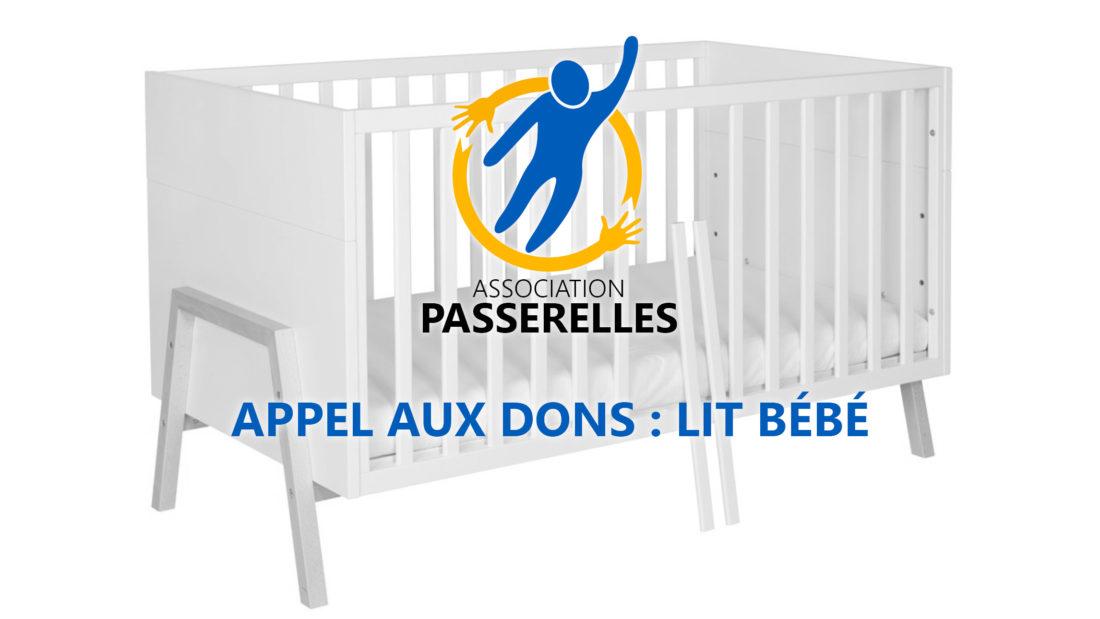 Appel aux dons : lit bébé