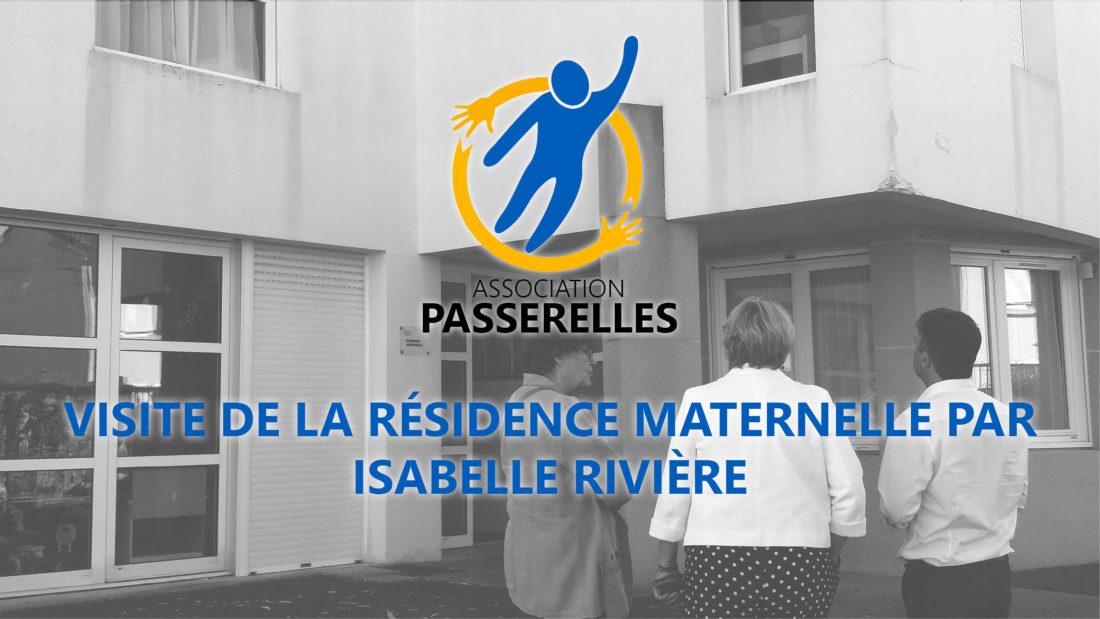 Visite de la Résidence Maternelle par Isabelle Rivière