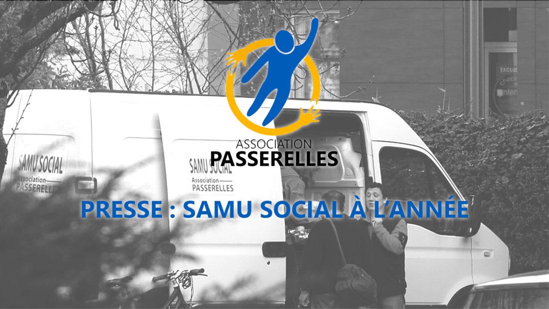 Presse : SAMU Social à l'année